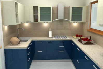 Sleek Modular Kitchens By Asian Paints, Hanamkonda, Warangal.Ramagundam