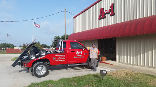 Towing Service «A-1-24 Hour Wrecker», reviews and photos
