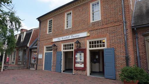 Movie Theater «Kimball Theatre», reviews and photos, 428 W Duke of Gloucester St, Williamsburg, VA 23185, USA