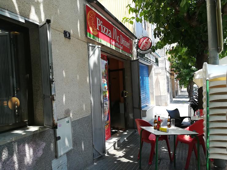 pizza mc doner Av. d'Antoni Gaudí, 9, 08755 Castellbisbal, Barcelona
