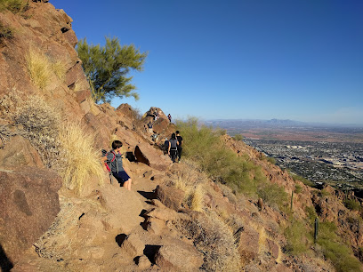 Cholla Trailhead Camelback Mountain