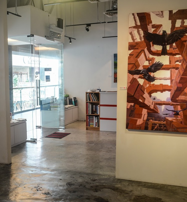 art gallery in kl, artemis