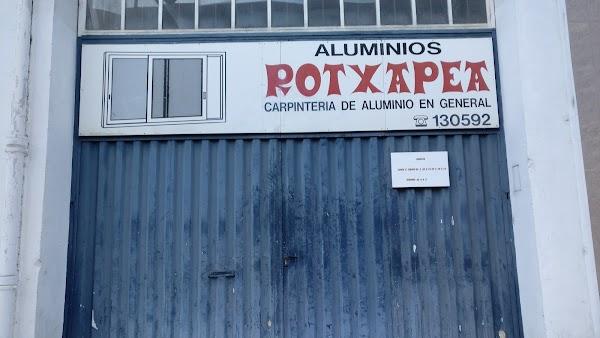 Aluminios Rotxapea