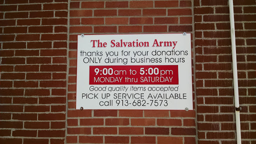 The Salvation Army Family Store & Donation Center, 401 Choctaw St, Leavenworth, KS 66002, Thrift Store