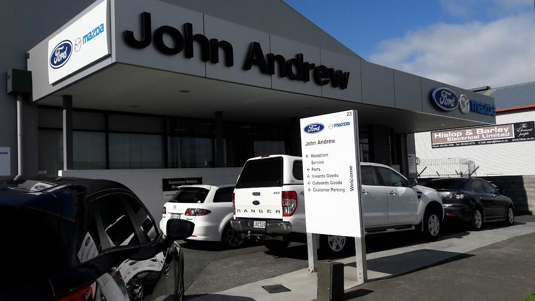 John Andrew Ford & Mazda Penrose