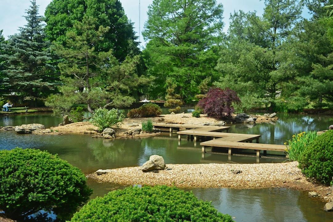 Mizumoto Japanese Stroll Garden In The, Mizumoto Japanese Stroll Garden Springfield Missouri