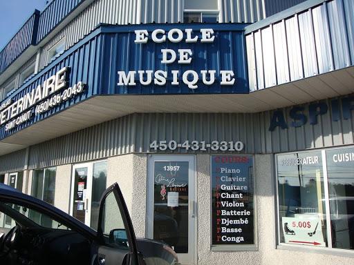 Music School ecoledemusiquecelineliboiron.com in Boulevard de St Canut () | CanaGuide