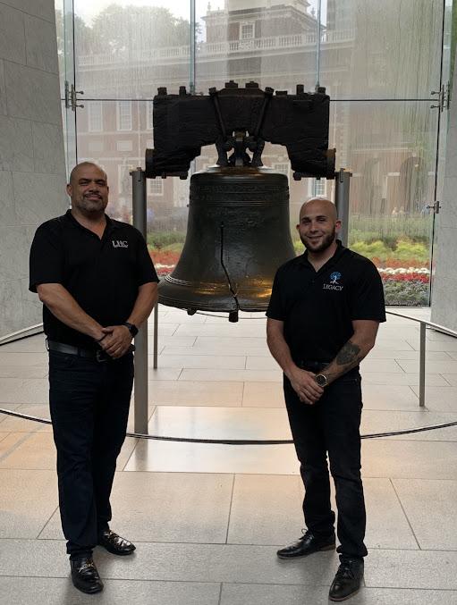 legacy healing center visits the philadelphia liberty bell