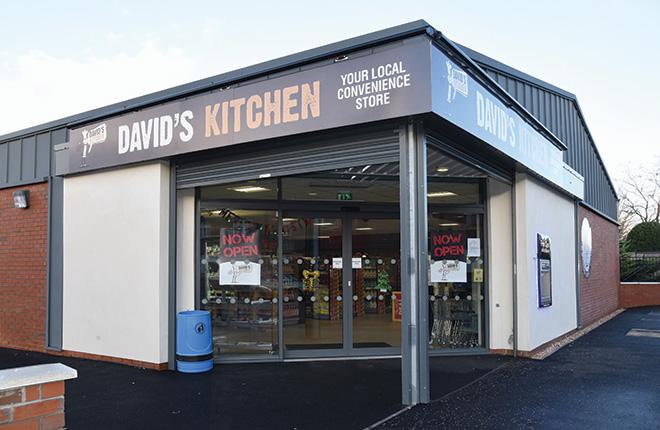 Davids Kitchen In The City Falkirk