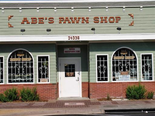 Abes Pawn Shop, 24336 Main St, Newhall, CA 91321, Pawn Shop