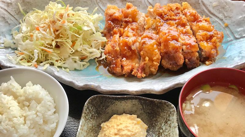 黒酢チキン南蛮定食 たかもとや大分県庁南店