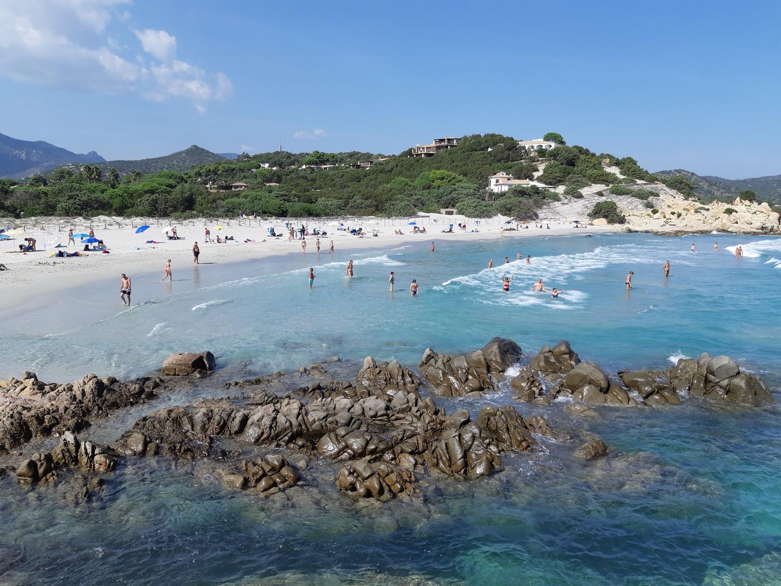 Spiaggia di Porto Giunco sulla mappa con foto e recensioni ...