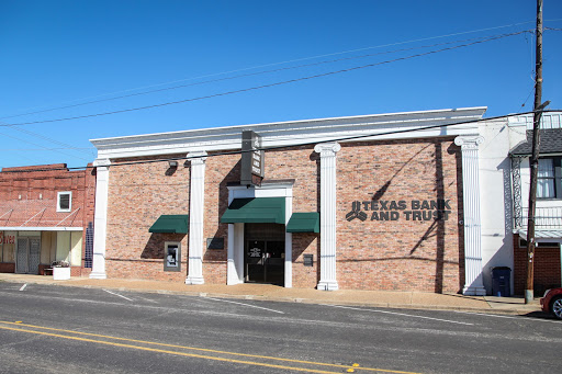 Texas Bank and Trust in Overton, Texas