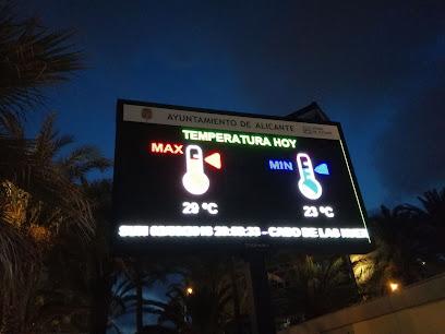 Oficina de información turística. Patronato Municipal de Turismo y Playas Alicante