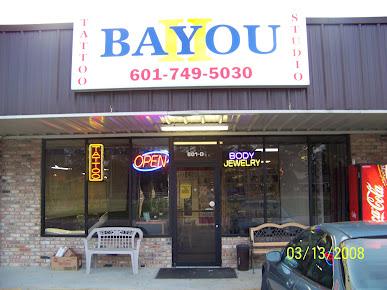 Bayou II Tattoo