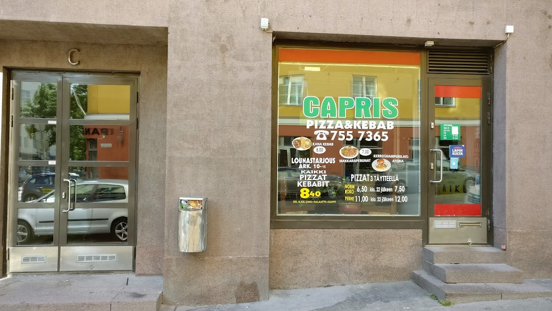 Capris Pizza Kebab