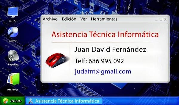 JDF asistencia técnica informática