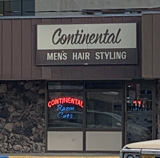 Continental Men's Hairstyling