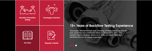 Plombier Tourangeau Mechanical Commercial Plumbing & Backflow Testing Prevention à Ottawa (ON) | LiveWay