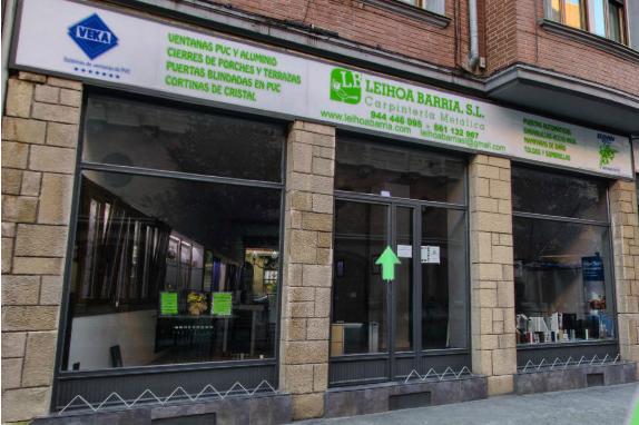 Leihoa Barria - Venta de Ventanas en Bilbao
