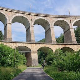 Semmeringbahn - Kalte-Rinne-Viadukt