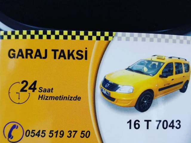 Taksi Karacabey Otogar - 16 T 7043