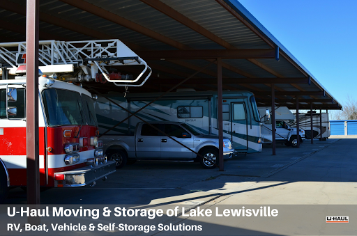 RV Storage Facility «U-Haul Moving & Storage of Lake Lewisville», reviews and photos