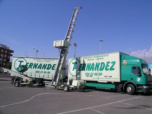 Mudanzas y guardamuebles Fernández Almería