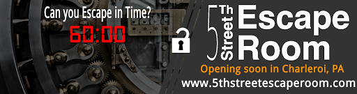 Tourist Attraction «5th Street Escape Room», reviews and photos, 434 Fallowfield Ave, Charleroi, PA 15022, USA
