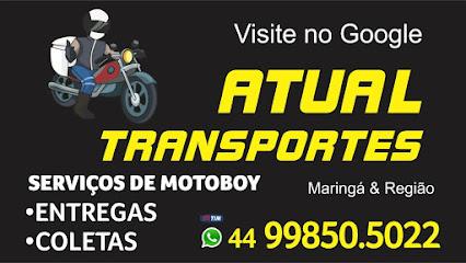 Serviços de motoboy Atual transporte