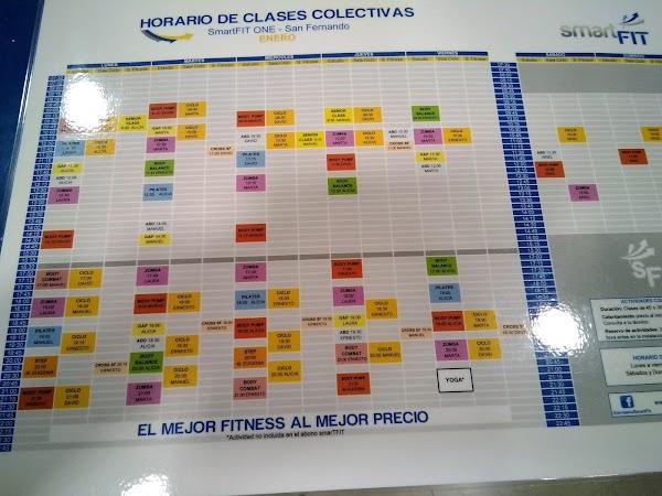 Gimnasio smartFIT ONE San Fernando Cádiz - Gimnasio low cost barato en San Fernando