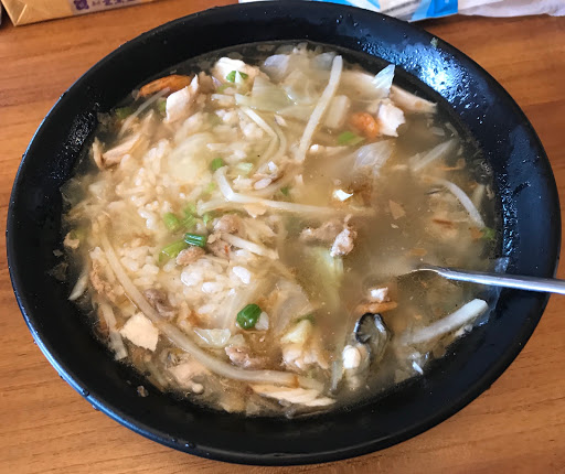 崁頂:肉燥飯、鮮魚湯