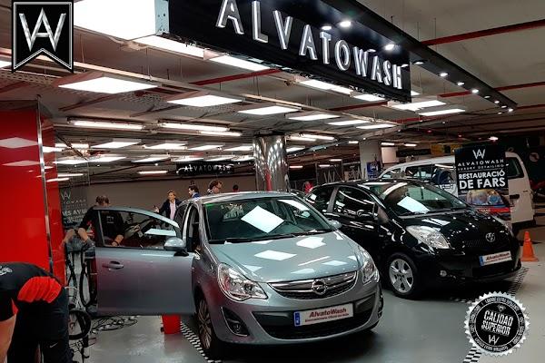 Alvato MESA Y LÓPEZ 18 Lavado de coches BRILLANTE en El Corte Inglés de Las Palmas AlvatoWash