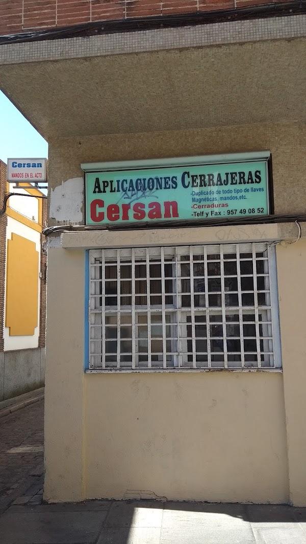 APLICACIONES CERRAJERAS CERSAN
