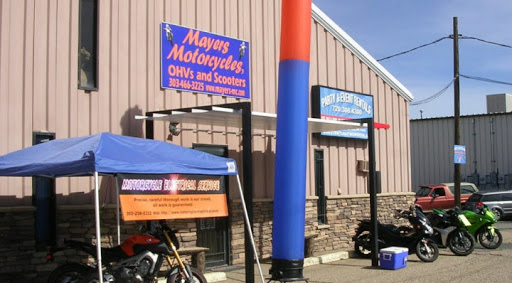 Motorcycle Dealer «Mayers Motorcycles, OHVs and Scooters», reviews and photos, 2795 Industrial Ln, Broomfield, CO 80020, USA