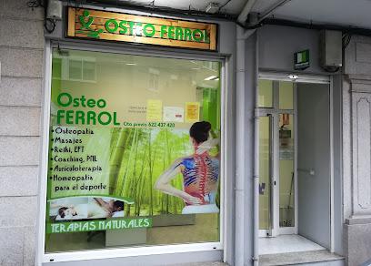 imagen de masajista OSTEO FERROL - Terapias naturales