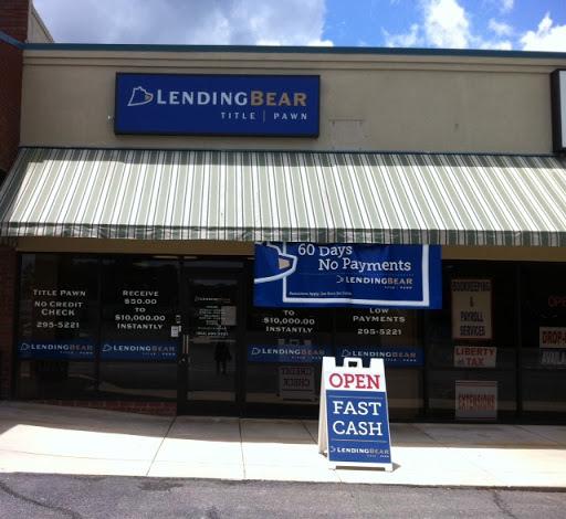 Lending Bear, 591 S Columbia Ave, Rincon, GA 31326, Financial Institution