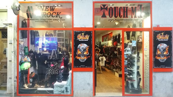 Touch Me Moda - New Rock Tienda Oficial - El Mayor Outlet De Botas New Rock