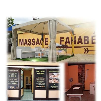 imagen de masajista Masaje Fanabe