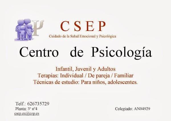 Centro de Psicologia CSEP. Psicólogo Eulalio Muñoz Pantoja