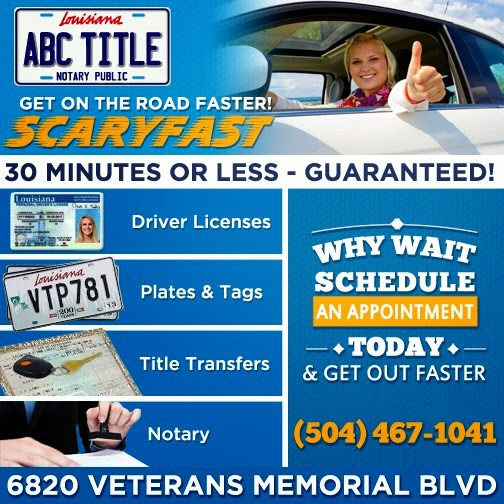 Department of Motor Vehicles «ABC Title of Metairie», reviews and photos