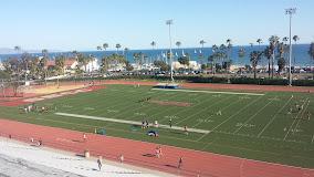 stadium view of football field