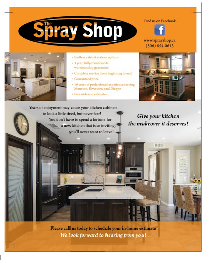 Painter The Spray Shop in Moncton (NB) | LiveWay