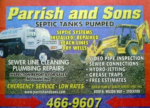 Parrish & Sons Inc in Stockton, California