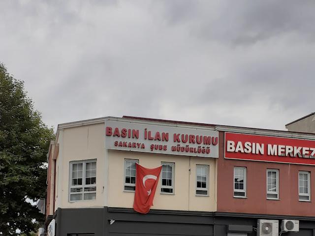 Basin İlan Kurumu Sakarya Şube Müdürlüğü