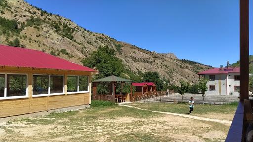Gülaçar alabalık tesisleri Necmi dayı'nın yeri