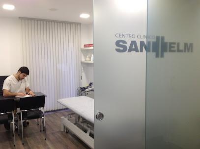 imagen de masajista Centro Clinico Sant Telm