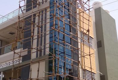 HASHMI interior & Exterior ACP panel glassing workDhule