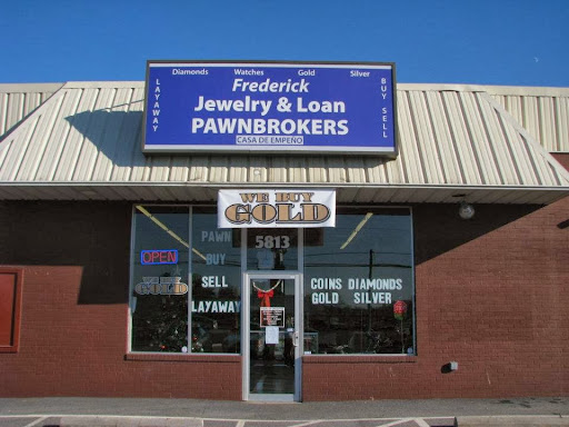 Frederick Jewelry & Loan Inc, 5813 Buckeystown Pike, Frederick, MD 21704, Jeweler
