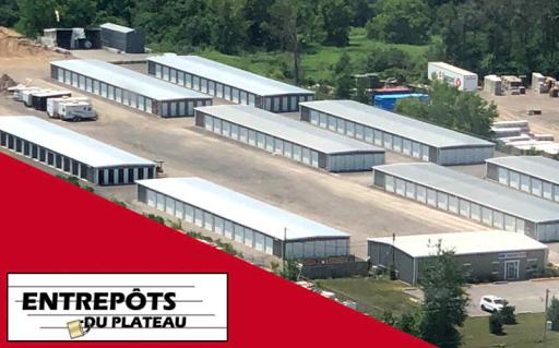 Stockage Entrepôts Du Plateau à Gatineau (QC) | LiveWay